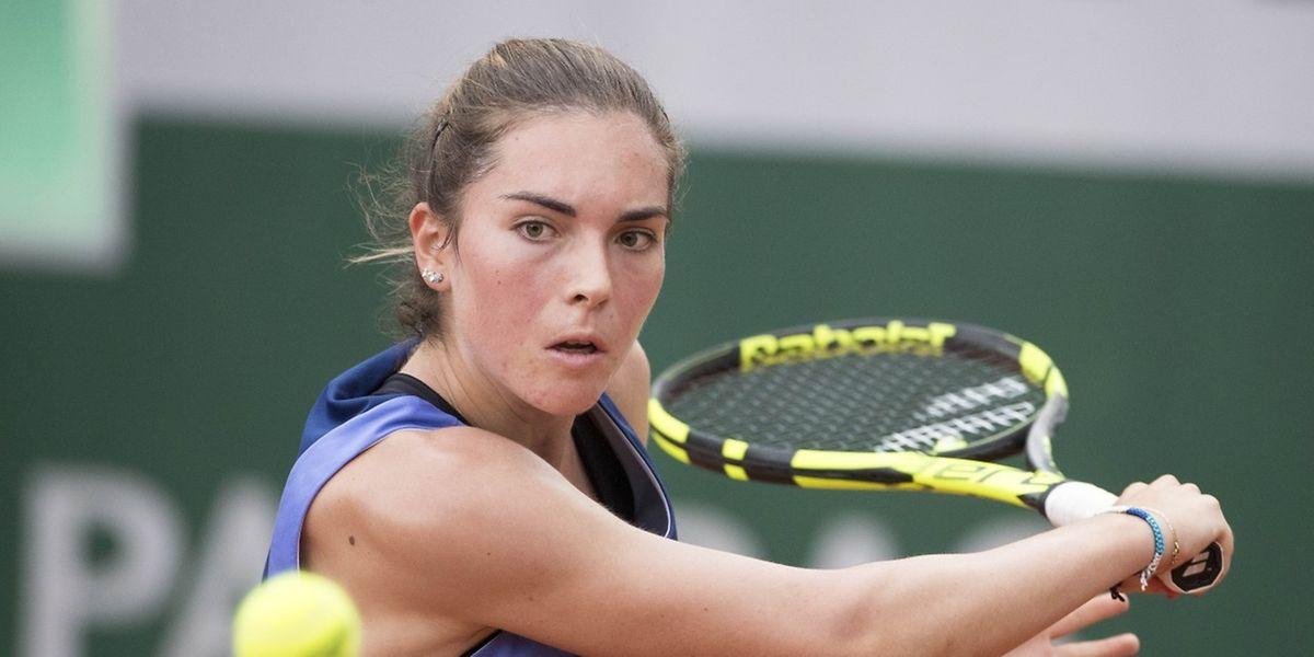 Eleonora Molinaro s'est inclinée ce jeudi en quart de finale du tournoi ITF de Stuttgart-Stammheim