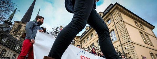 Die Plattform will am 8. Oktober ein weiteres Zeichen gegen TTIP und CETA setzen.