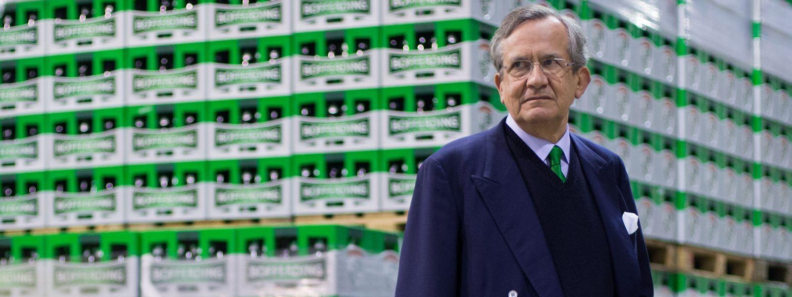 Die Brasserie Nationale mit Familienoberhaupt Georges Lentz hatte eines der schwersten Jahre in der Unternehmensgeschichte.