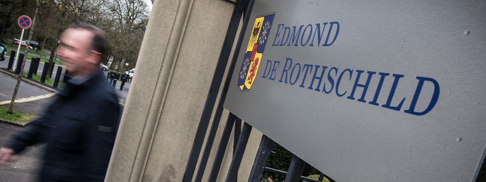 Die Schweizer Privatbank Edmond de Rothschild in Limpertsberg.