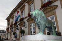 Lok , Knuedler , Place Guillaume , Mairie Luxembourg , Gemeindehaus Stadt Luxemburg , Foto:Guy Jallay / Luxemburger Wort