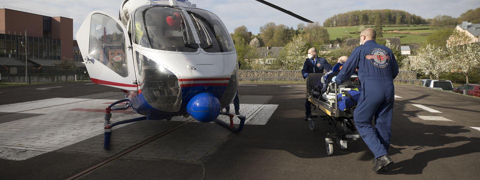 Die Luxembourg Air Rescue führte den Transport des Patienten durch.
