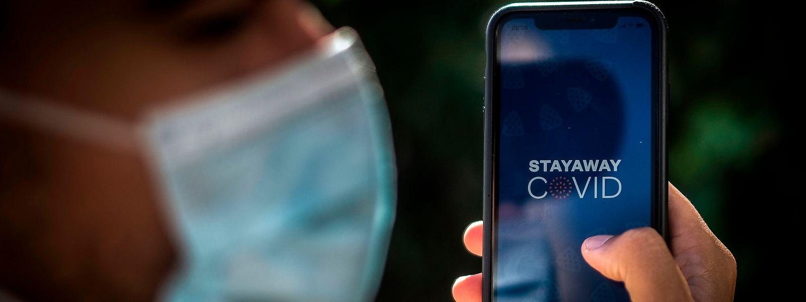"""Aplicação portuguesa """"Stayaway Covid"""" que está a gerar polémica em Portugal, deverá integrar plataforma europeia em novembro."""