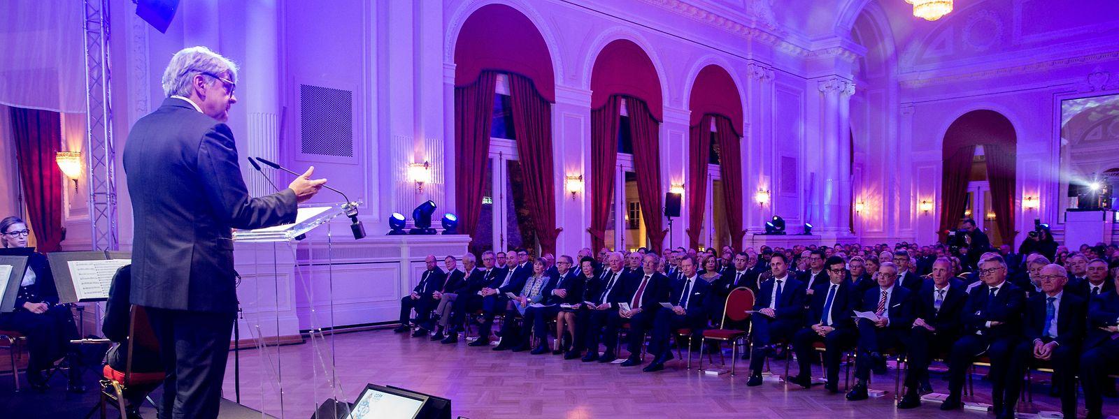 Präsident Romain Wolff dankte den langjährigen Mitgliedern für ihren Einsatz.