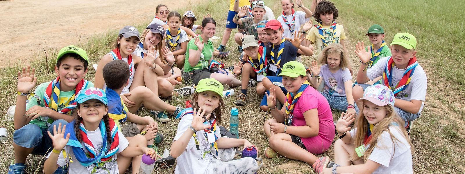 """Noch bis zum 28. Juli wird das große Feld in Kirchberg fest in """"Scout""""-Hand sein."""