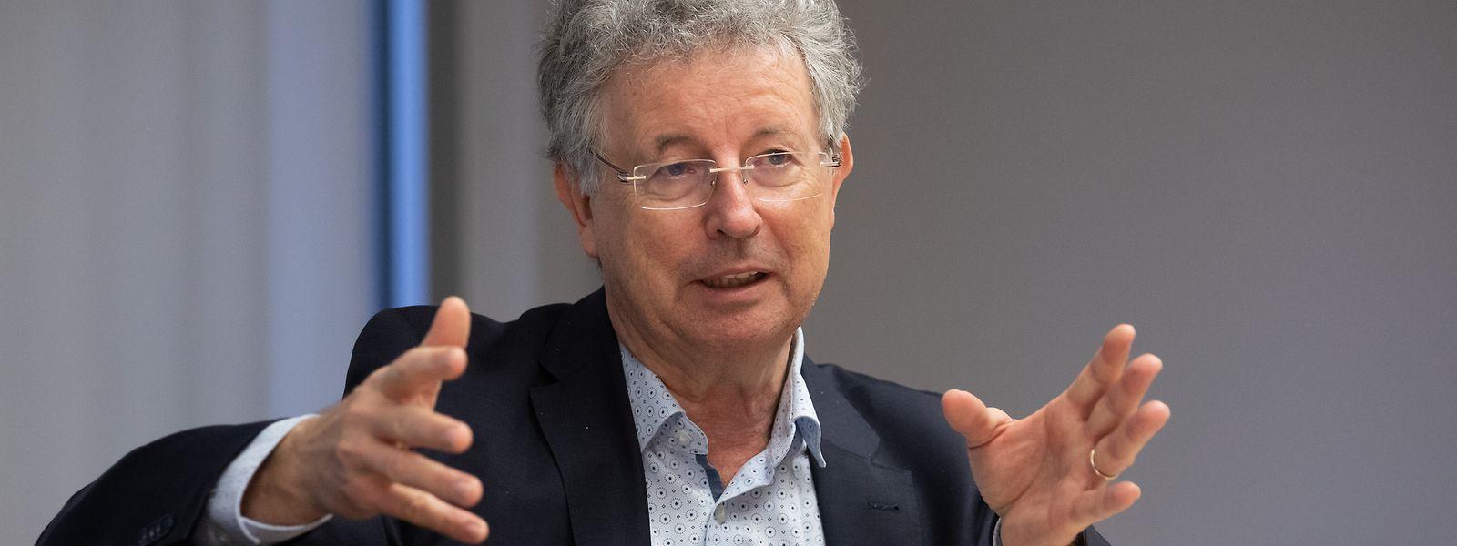 Herausforderung Wohnungsbau: Staat und Gemeinden sind zur Zusammenarbeit verdammt, betont Syvicol-Präsident Emile Eicher (CSV).