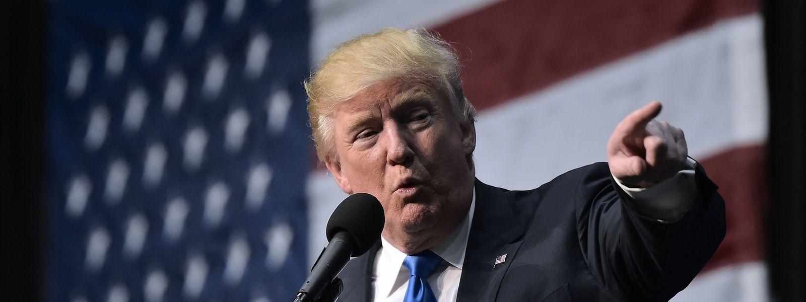 In Luxemburg bekäme er nur drei Prozent der Stimmen: Donald Trump.