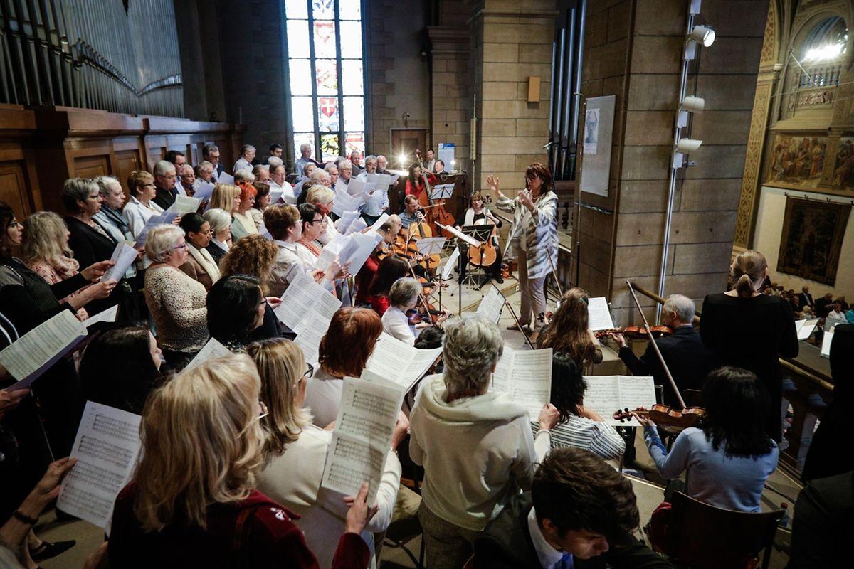 Messe für den Stadtrat und die Einwohner der Stadt Luxemburg.
