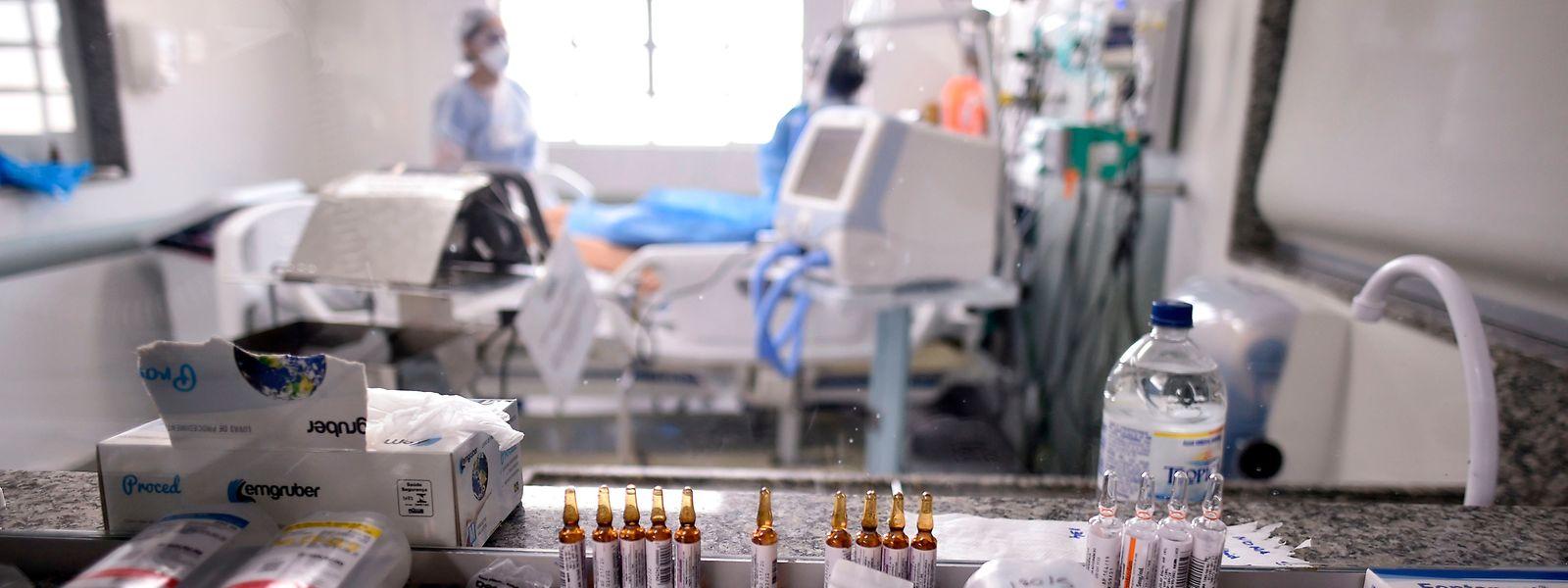 Quinze personnes atteintes du covid-19 sont actuellement hospitalisées au Luxembourg