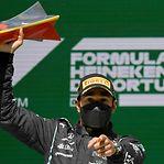 Lewis Hamilton vence GP de Portugal de F1 e alarga recorde de triunfos