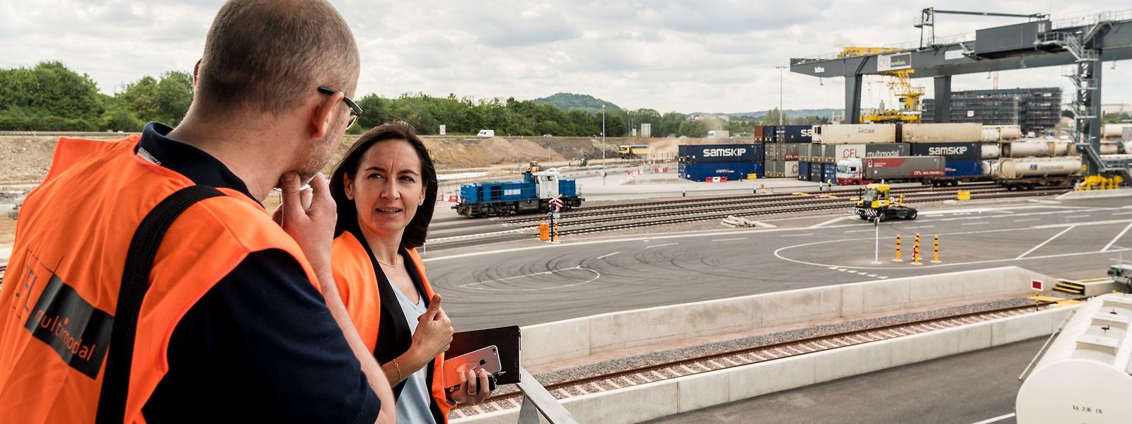 Barbara Chevalier ist Direktorin für Strategie und Geschäftsentwicklung bei CFL Multimodal in Bettemburg.