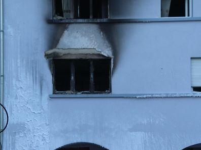 Un incendie a éclaté à Clervaux dans la nuit de mardi à mercredi.