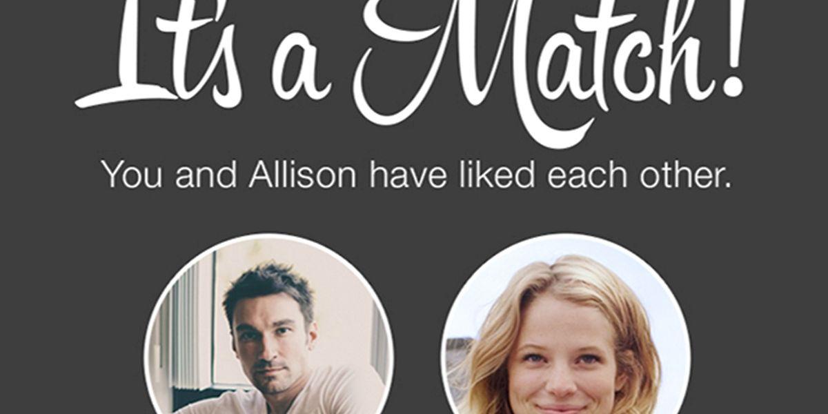 It's a Match: Über diesen Text freuen sich die Nutzer der Dating-App Tinder wohl am meisten.