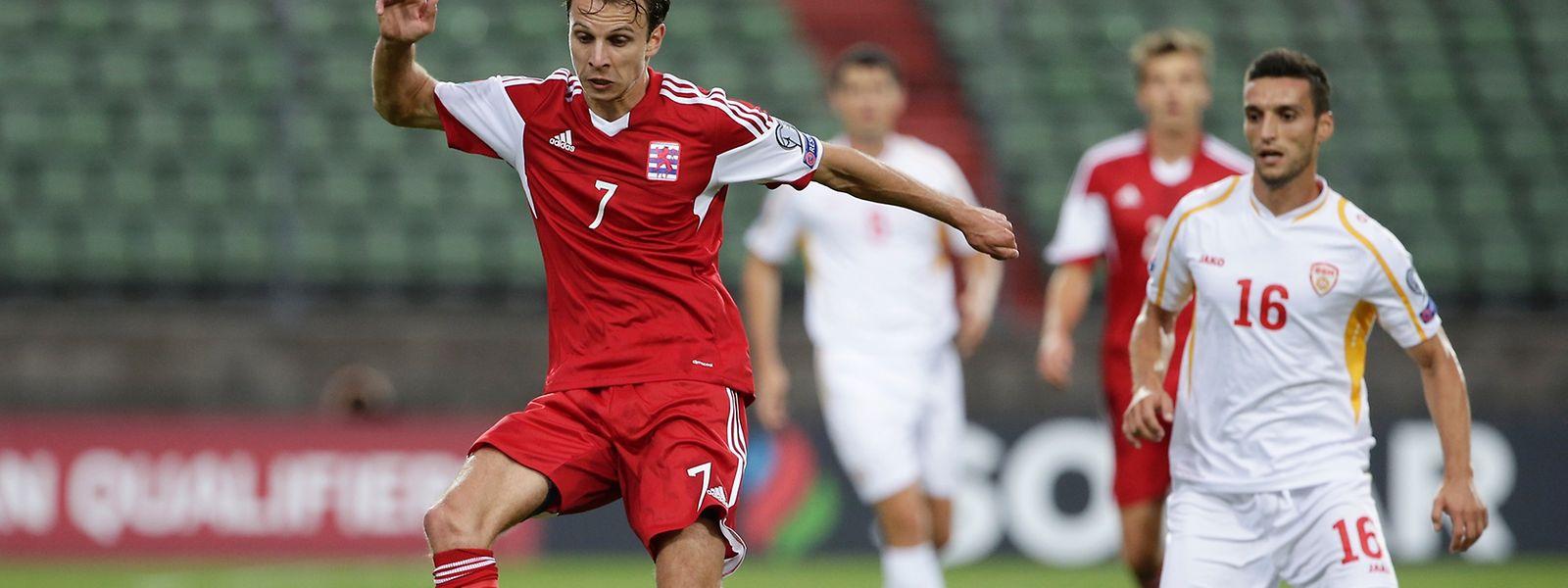 Lars Gerson und die Luxemburger Nationalmannschaft hatten am Samstag das Glück auf ihrer Seite.
