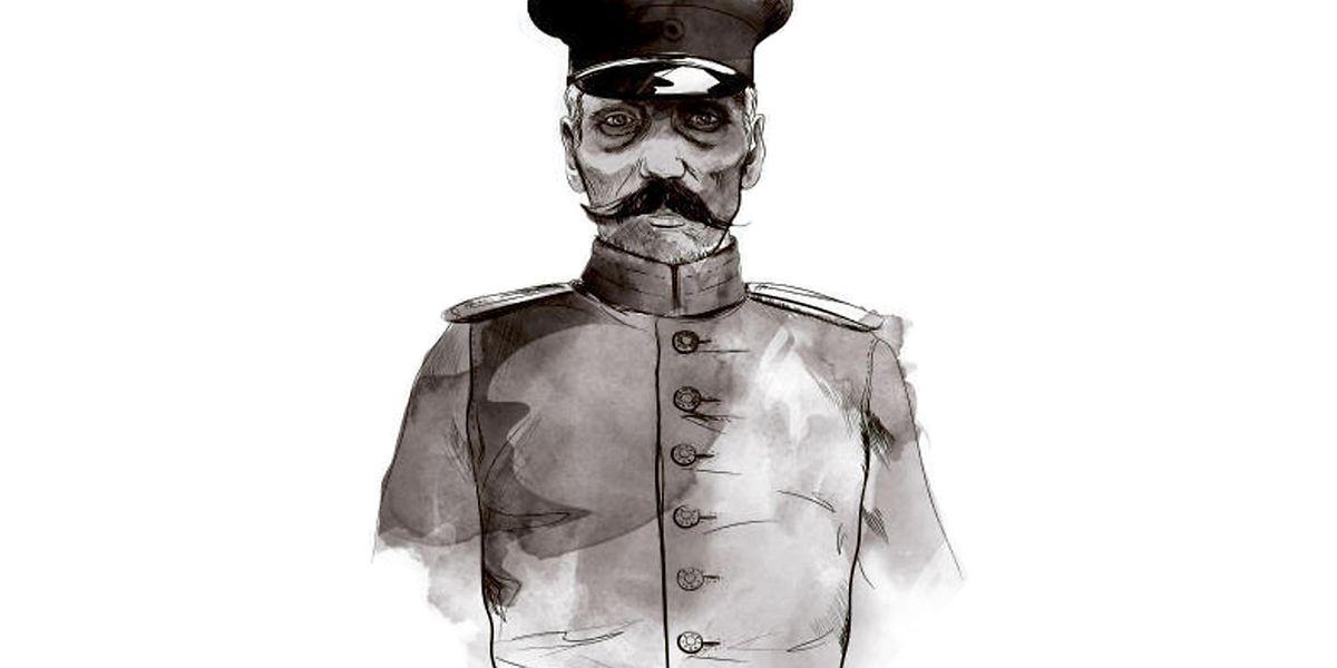 Die Uniform kaufte sich Friedrich Wilhelm Voigt auf dem Trödelmarkt zusammen.