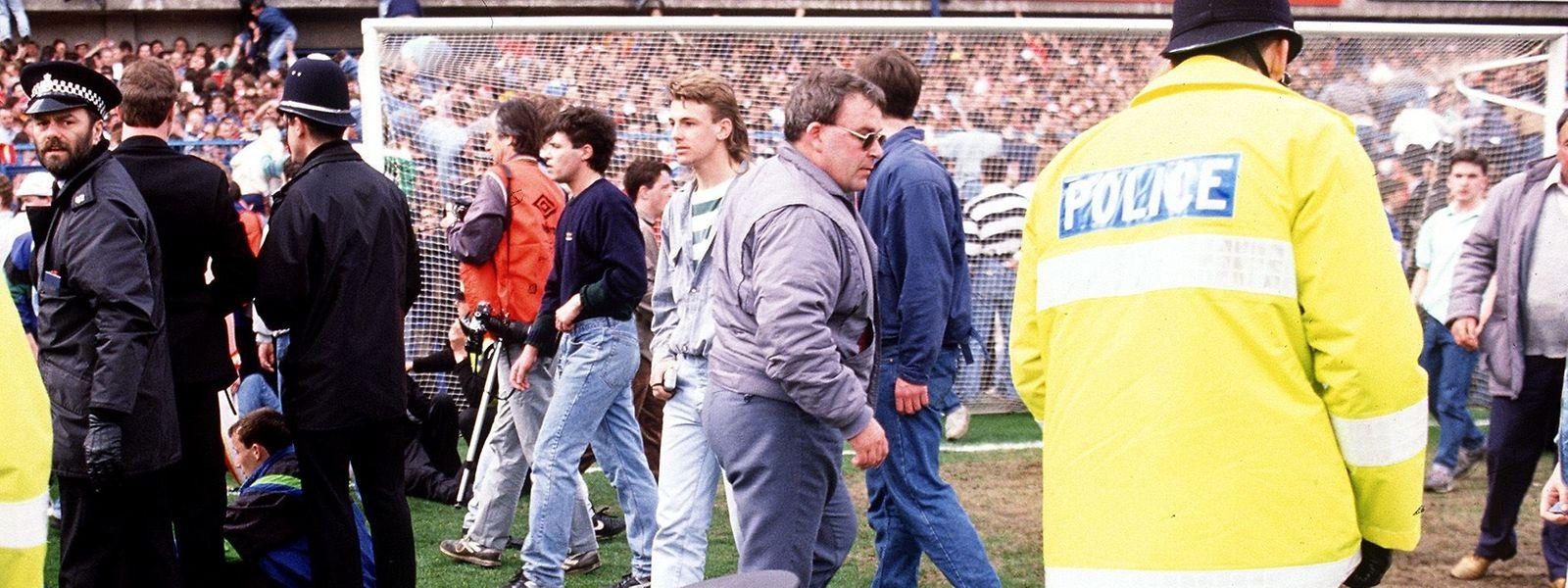 Der schwärzeste Tag in der englischen Fußballgeschichte: 96 Menschen kamen bei der Hillsborough-Katastrophe am 15. April 1989 ums Leben.
