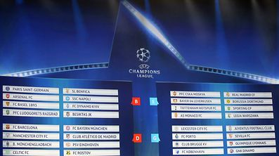 A general view shows the draw for the 2016/2017 UEFA Champions League Cup soccer competition at Monaco's Grimaldi Forum in Monte Carlo in Monaco, August 25, 2016. REUTERS/Eric Gaillard