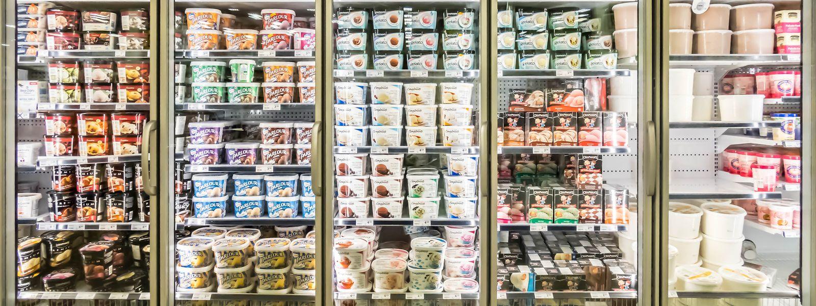 Vor allem in Speiseeis ist der kontaminierte Zusatzstoff zu finden. Betroffen sind aber nur bestimmte Produktchargen.