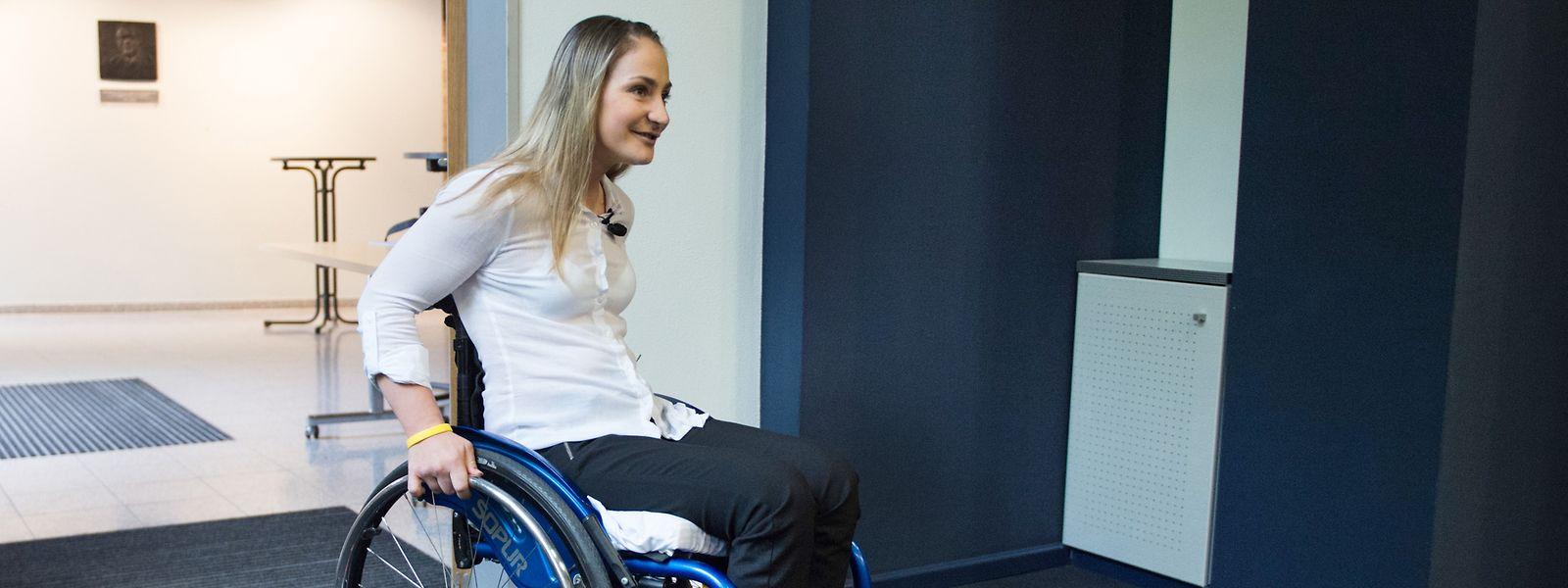 Kristina Vogel ist nach einem schweren Trainingsunfall querschnittsgelähmt.