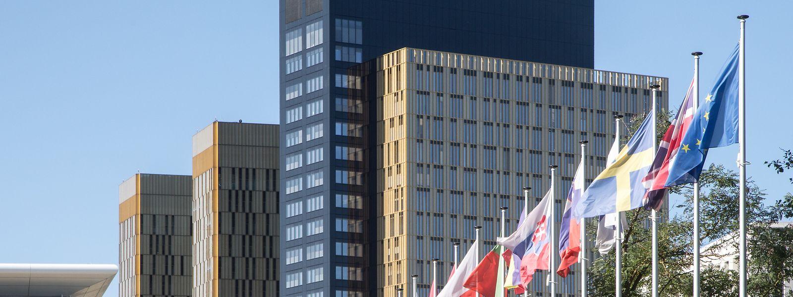 La dernière extension de la Cour de justice est aussi la plus haute: 115 mètres.