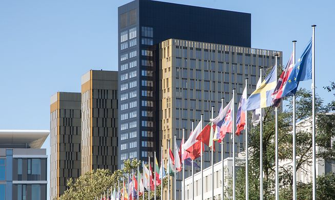 The European Court of Justice in Kirchberg, one of the many EU institutions and bodies in Luxembourg