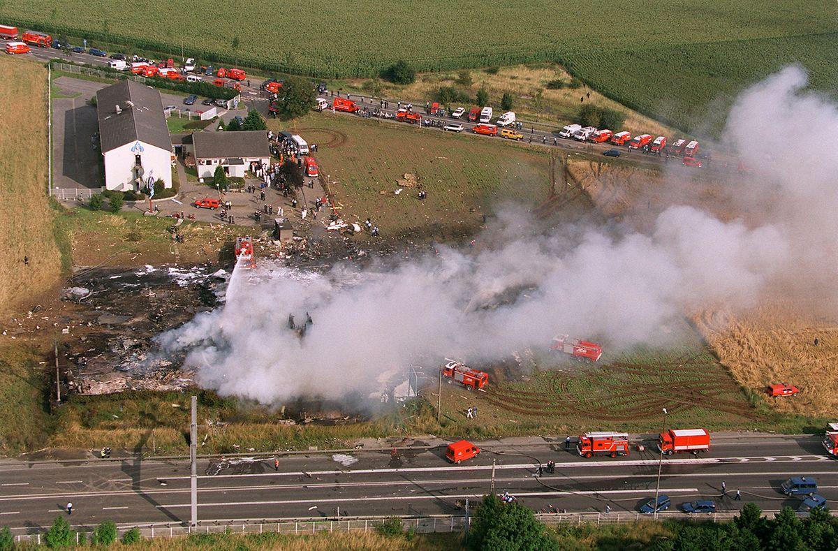 Die Concorde 4590 stürzte kurz nach dem Start auf ein Hotel in Gonesse bei Paris. Bei dem Unglück starben alle 109 Menschen an Bord sowie vier Hotelangestellte.