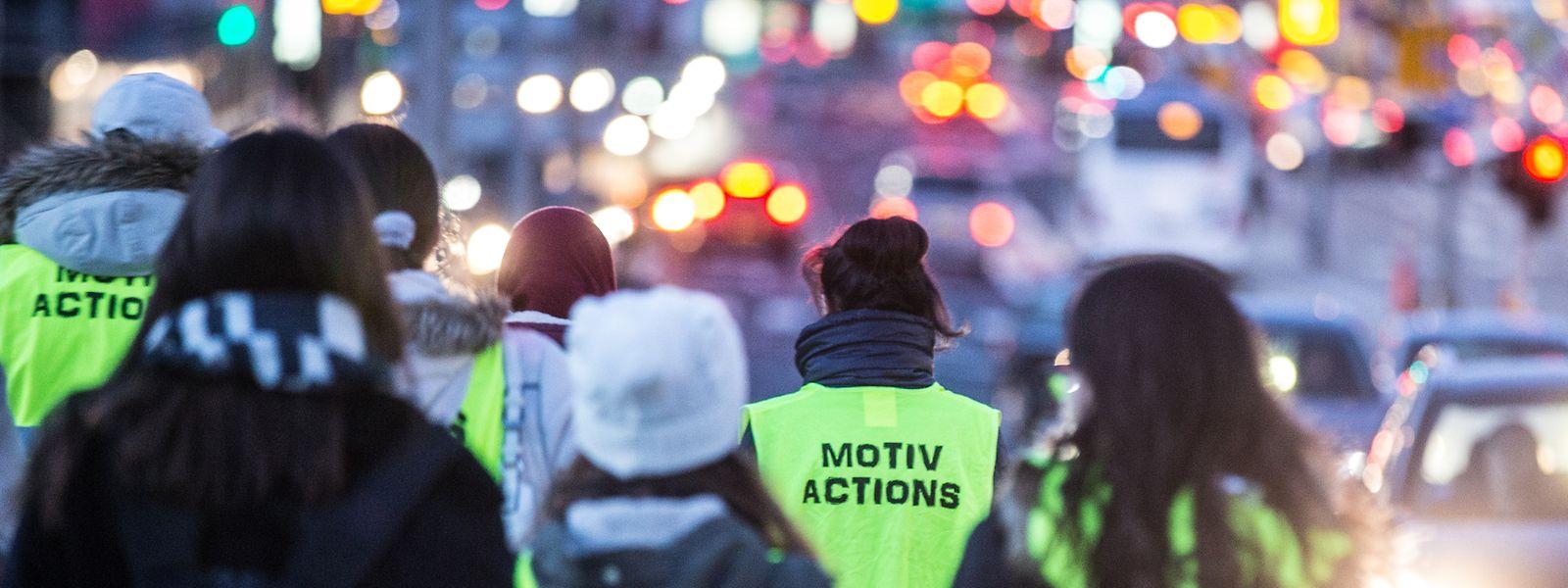 Die Tour von Motiv-actions startet in Bonneweg, von dort aus geht es ins Bahnhofsviertel und schließlich in die Oberstadt.