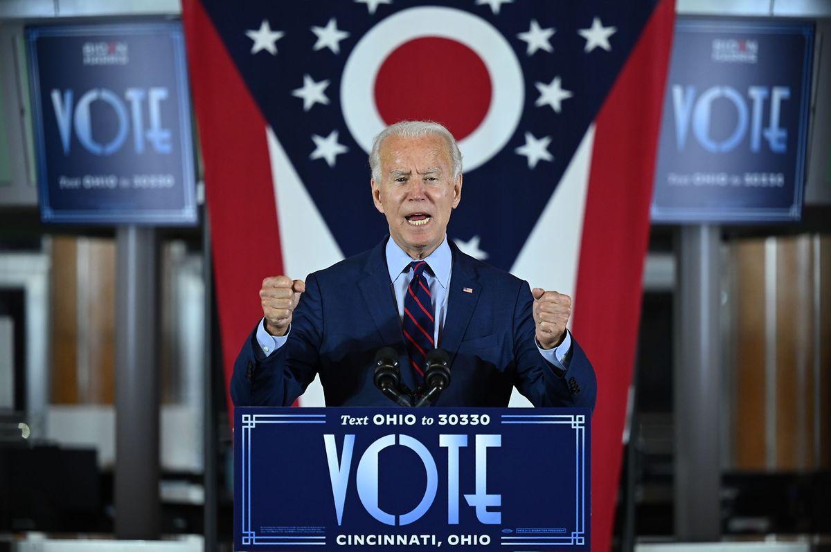 """Joe Biden wirft Trump """"skrupelloses"""" Verhalten vor."""