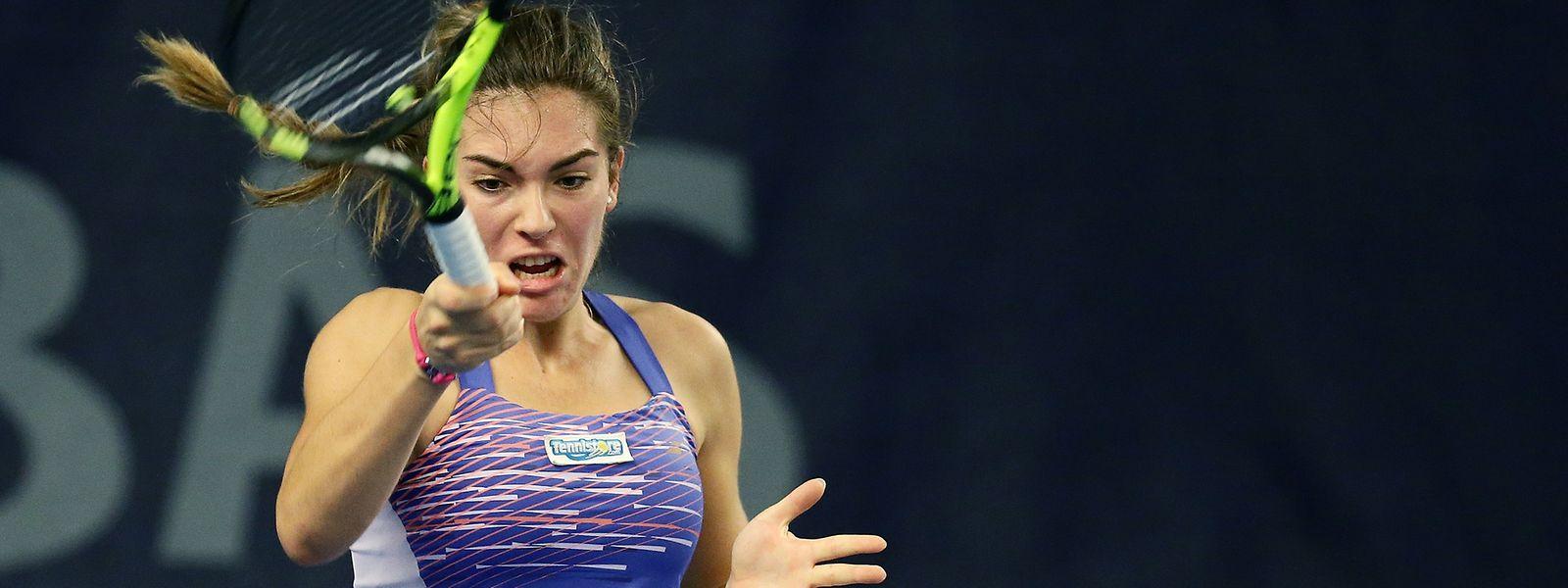 Eléonora Molinaro disputera la demi-finale du tournoi de Grenoble, ce samedi