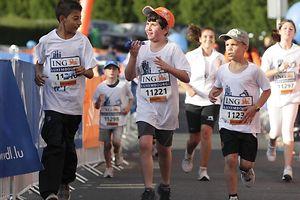 A mini-maratona ING para os mais pequenos é uma das propostas do CONTACTO