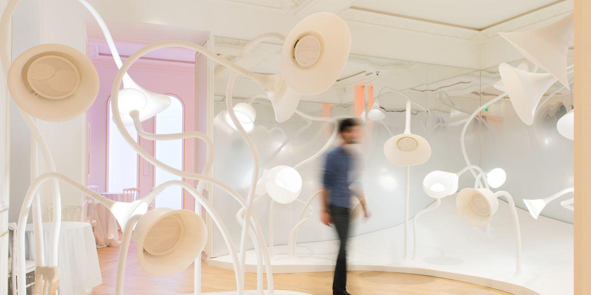 Im Garten der Düfte: Im neuen Parfüm-Museum in Paris, dem Grand Musée du Parfum, wird der Geruchssinn der Besucher herausgefordert.
