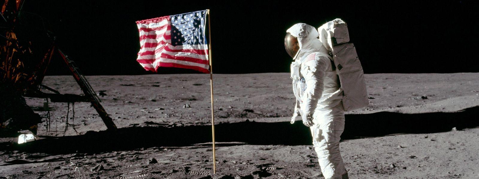 Eine der Sternstunden der NASA: die Mondlandung am 29. Juli 1958.