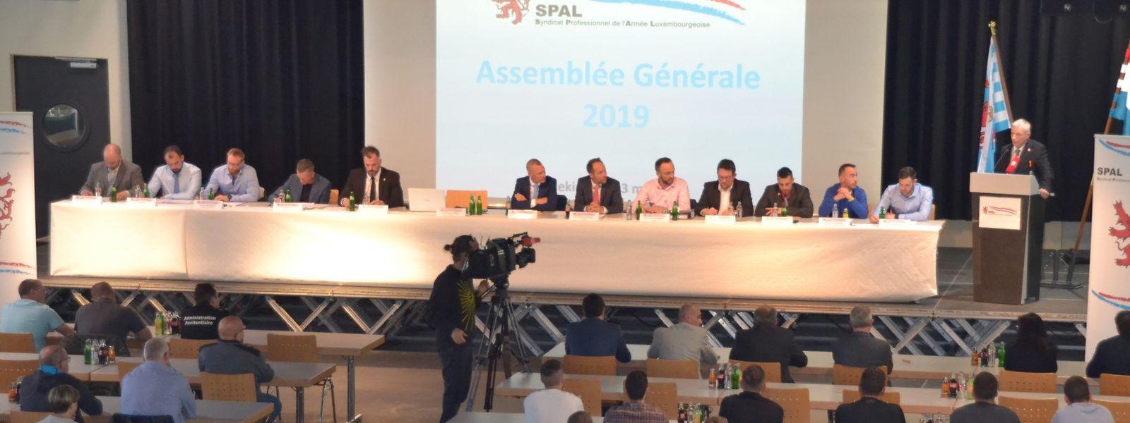Le comité du SPAL réuni lors de la dernière assemblée générale