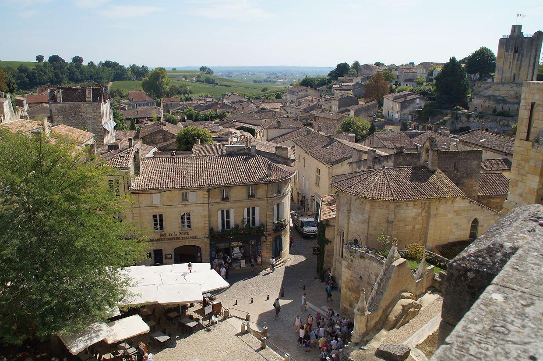 Ein Höhepunkt der Reise war für einige natürlich der Besuch in der Unesco-Weltkulturerbe-Stadt Saint-Emilion.