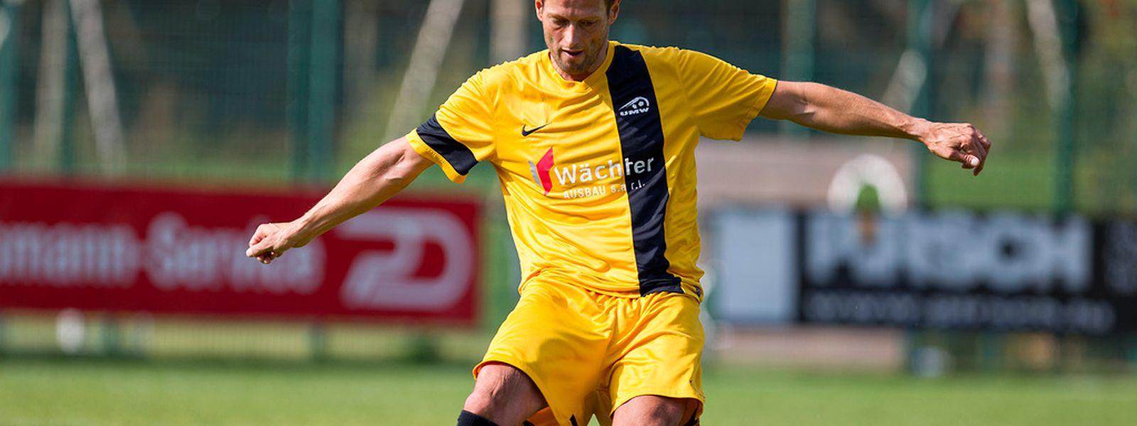 L'entraîneur-joueur de Mertert-Wasserbillig, Thomas Berens, n'est pas satisfait de la prestation de ses joueurs malgré le point pris à Bertrange.