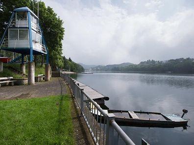 Badeplätze Stausee.hier:Liefrange.Foto:Gerry Huberty