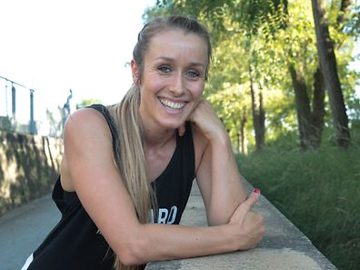 12.09.2016 Luxembourg, Kirchberg, Coque, Sport,  Free-Runnerin, Lynn Jung  photo Anouk Antony