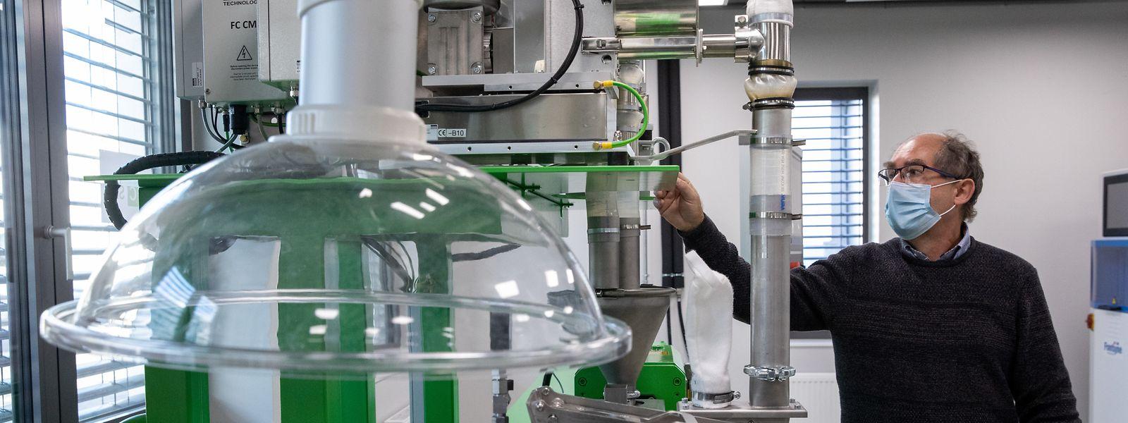 Im neuen Labor in Foetz erproben die Wissenschaftler von OCSiAl neue Anwendungen für die Graphen-Nanoröhrchen.