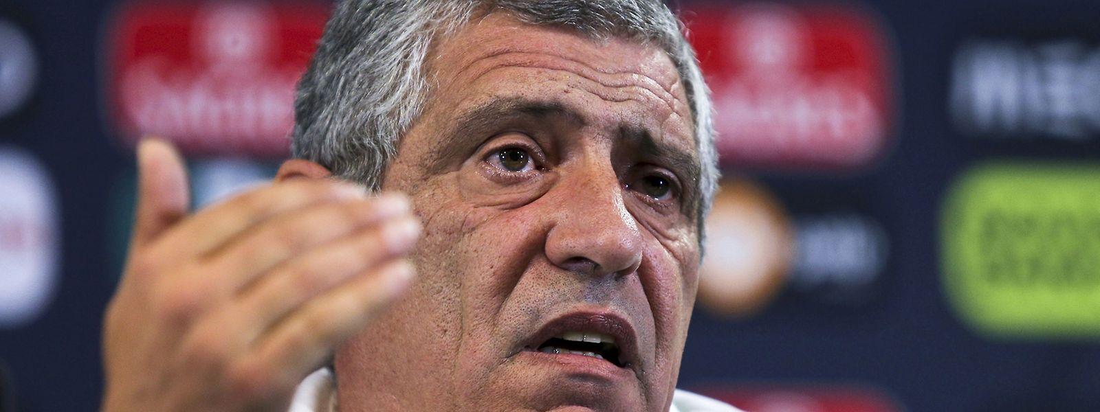 Fernando Santos está consciente das dificuldades frenet aos albaneses, mas acredita que Portugal pode vencer