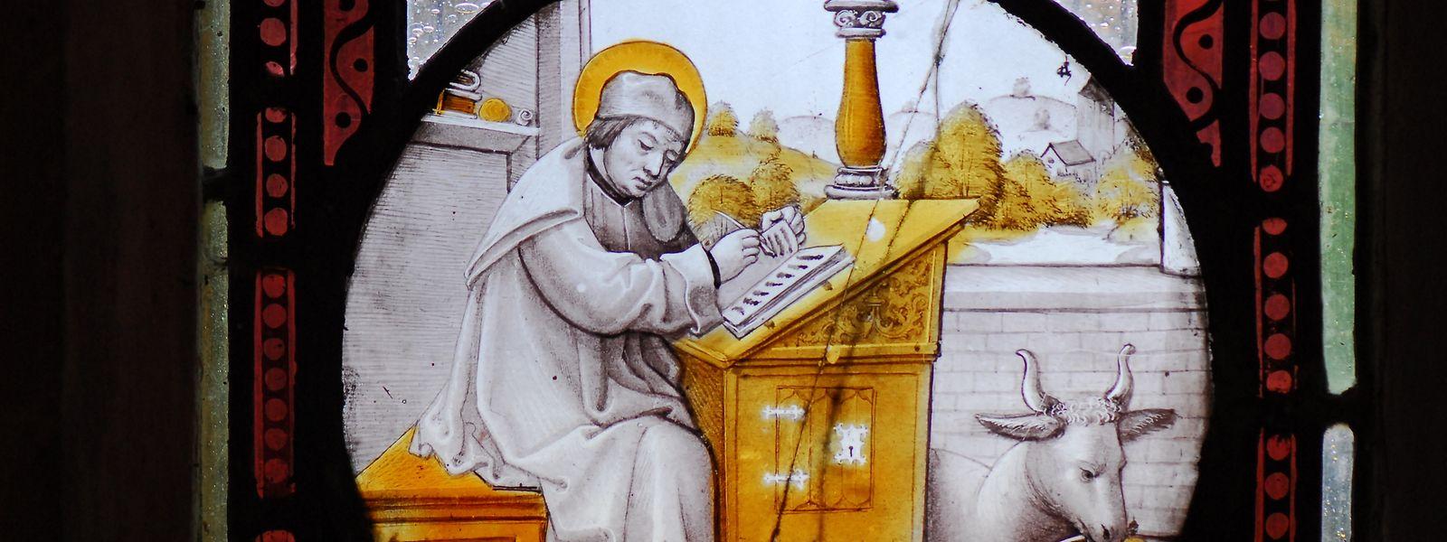 Der heilige Lukas, Evangelist und Arzt, im Dienst der sozial Schwachen.