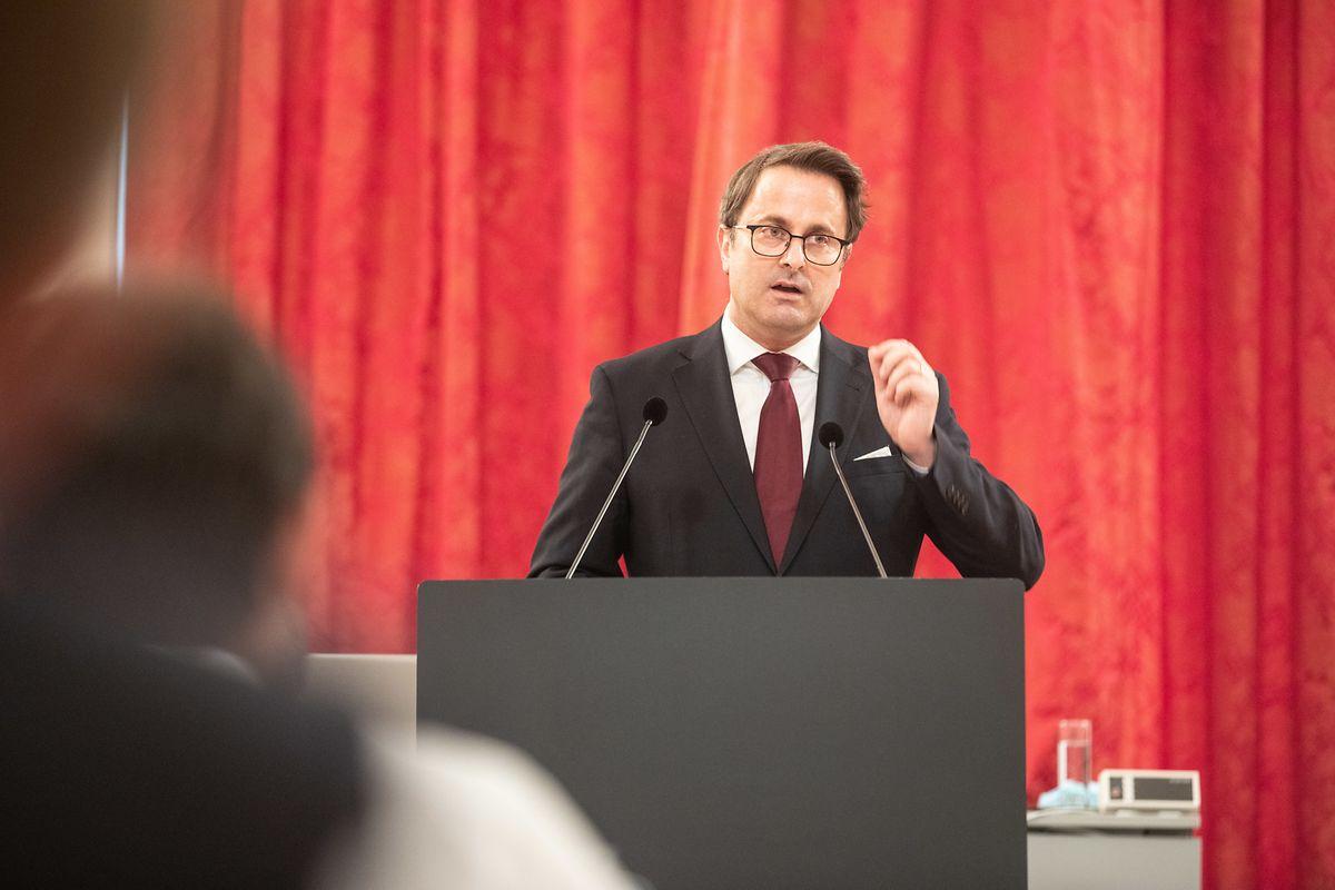Premier Bettel hielt am Mittwoch seine dritte Corona-Rede im Parlament.