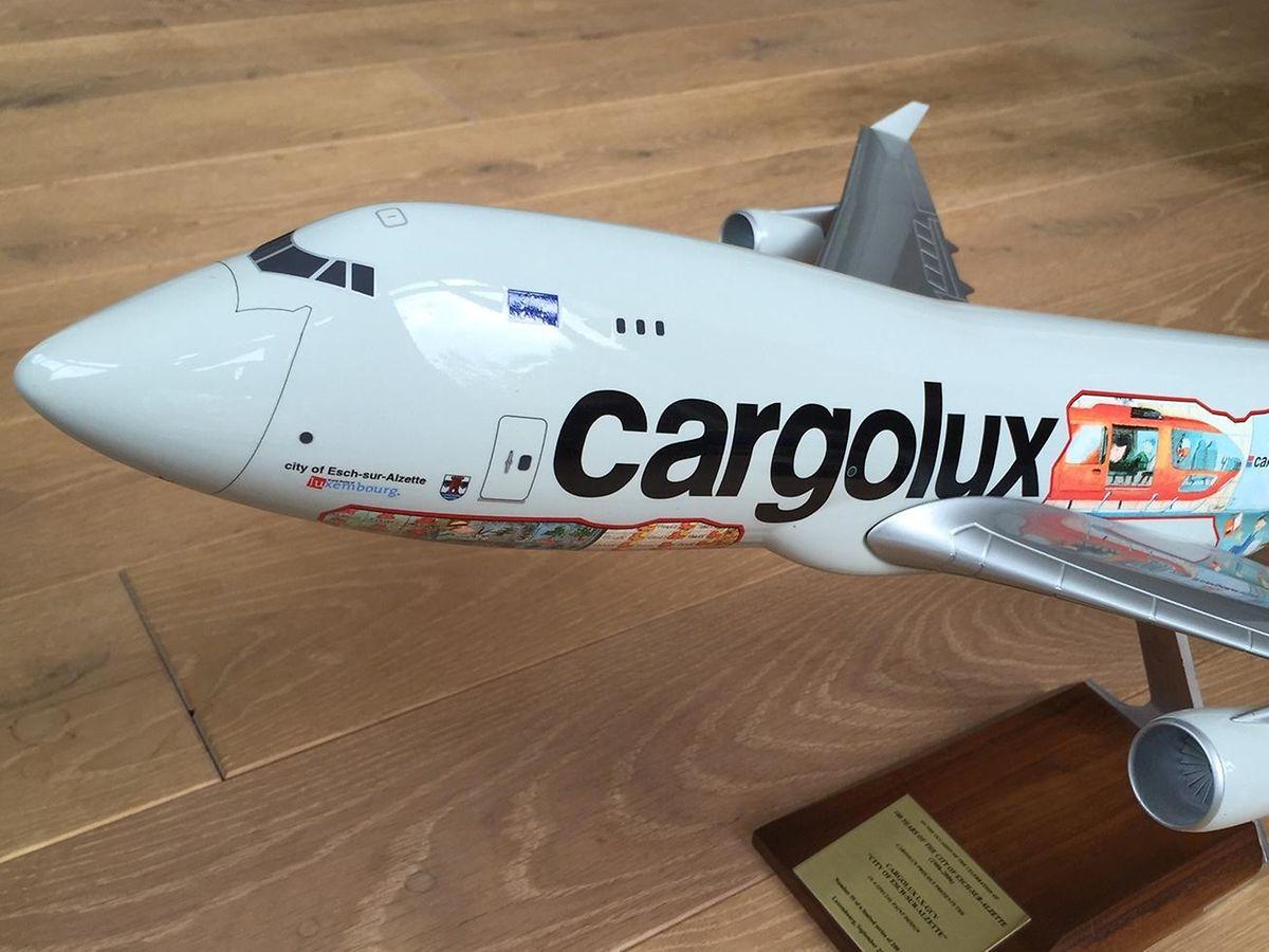 Das Comic-Design war schon 2006 für eine damalige Cargolux-Maschine vorgesehen. Doch erst jetzt wurde das Projekt Wirklichkeit.