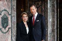 LL.AA.RR. le Grand-Duc et la Grande-Duchesse, réalisés à l'occasion de leur 40e anniversaire de mariage.