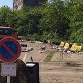 Approximately, 20m3 of waste was collected at the car park in rue de Belval