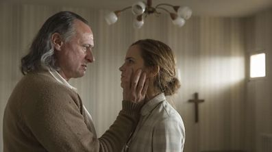 "Emma Watson and Mikael in ""Colonia Dignidad"" by Florian Gallemberger"