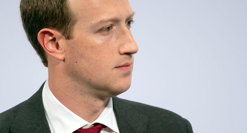 15.02.2020, Bayern, München: Mark Zuckerberg, Vorstandsvorsitzender von Facebook, spricht auf der 56. Münchner Sicherheitskonferenz. Foto: Sven Hoppe/dpa +++ dpa-Bildfunk +++