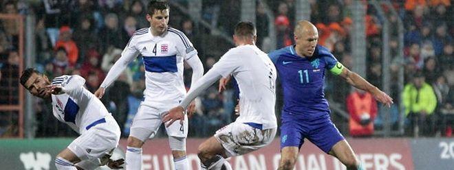 Die Luxemburger um Daniel da Mota, Kevin Malget und Maxime Chanot (v.l.n.r.) sind in der Weltrangliste zurückgefallen.