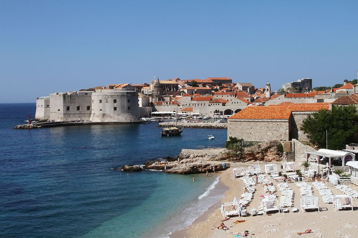 Dubrovnik, Kroatiens Perle der Adria.
