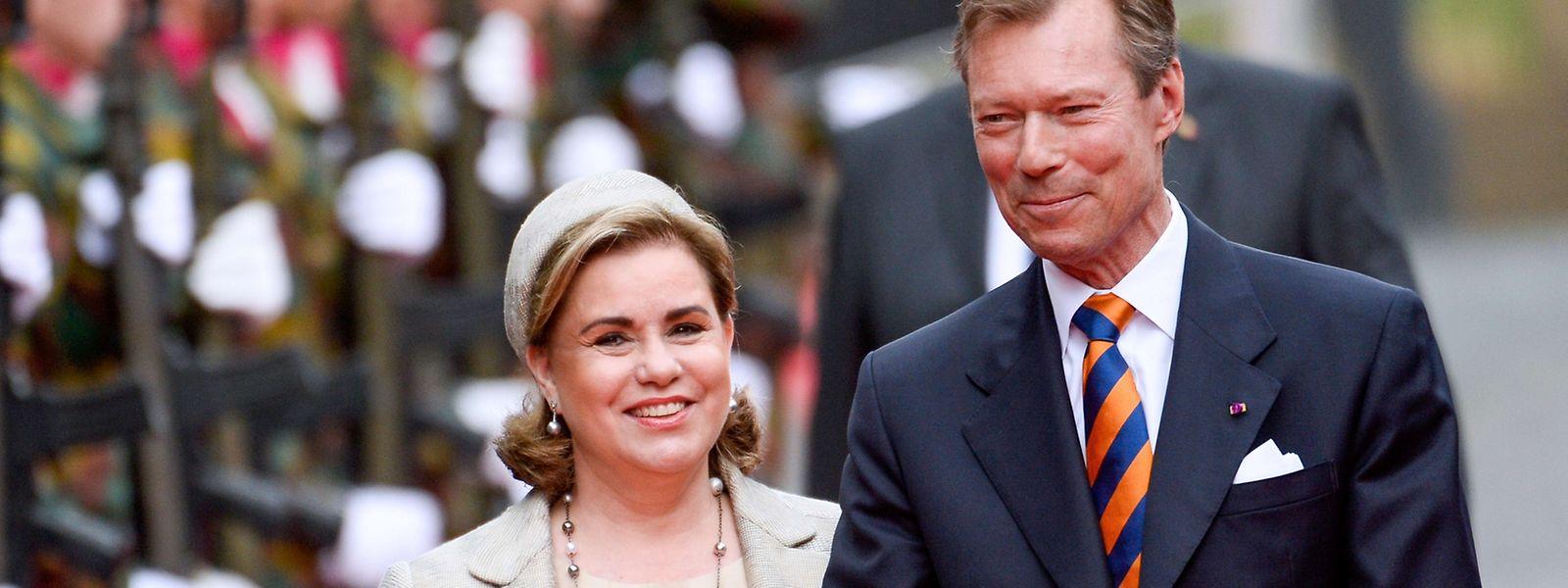 Le Grand-Duc et la Grande-Duchesse seront présents pour la Fête nationale du Luxembourg.