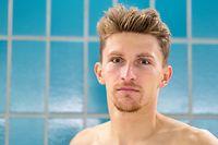 Stefan Zachäus / Triathlon, Schwimm Training Session vor den Olympischen Spielen in Toyko / 01.07.2021 / d'Coque / Foto: Yann Hellers